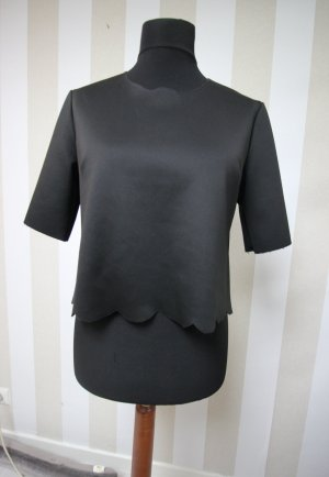 FRONT ROW SHOP Cropped Shirt black