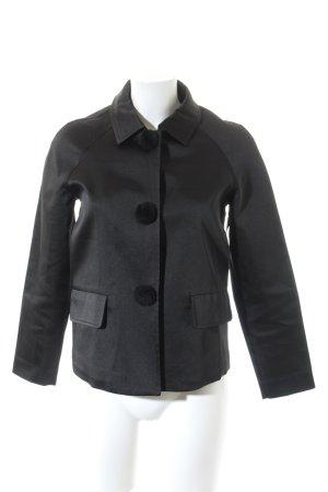 FRONT ROW SHOP Kurz-Blazer schwarz Elegant