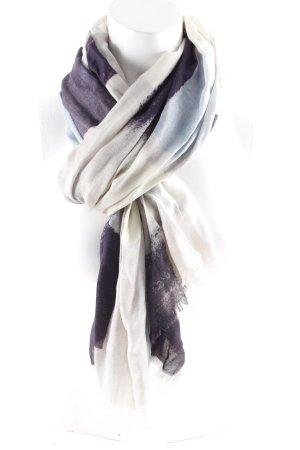 Front Row Society Sjaal met franjes veelkleurig casual uitstraling