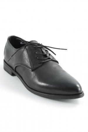 Fru.it Zapatos estilo Oxford negro elegante