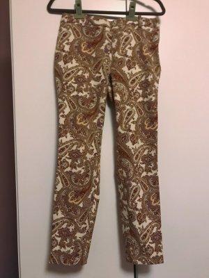 Zara Woman Pantalon strech multicolore