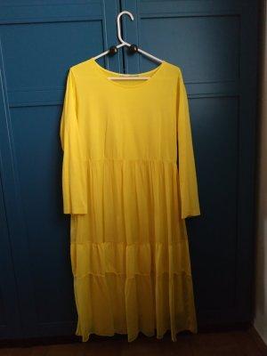 Sweat Dress yellow