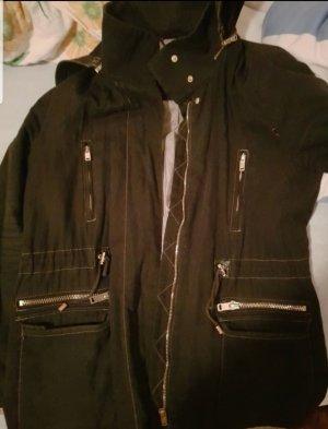 Veste à capuche noir