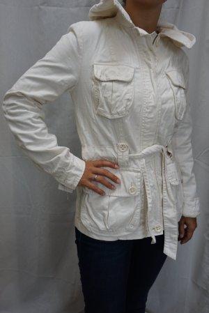 Frühlings-Jacke H&M, creme, perfekter Zustand, Gr. 36