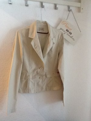 Frühlings- Jacke in Beige von CASTRO in Gr. 40 (EUR)