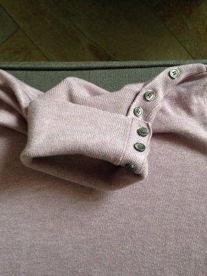 Frühlingshafter fliederfarbiger Rollkragen Pullover von Mexx
