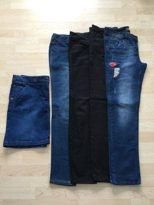 Bonita Jeans stretch multicolore coton