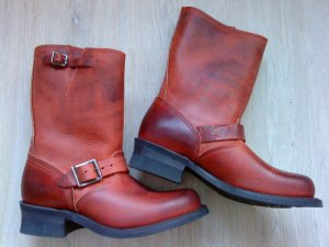 Frye Boots brown red-brown leather