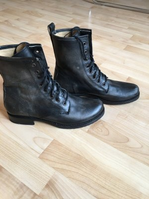 Frye Boots black brown leather