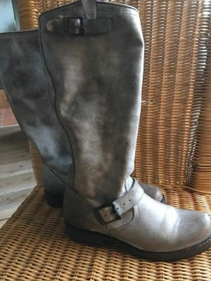 Frye Veronica Slouch Boots Vintage Grey