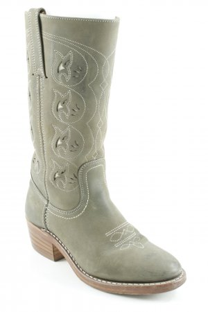 Frye Western Boots multicolored country style