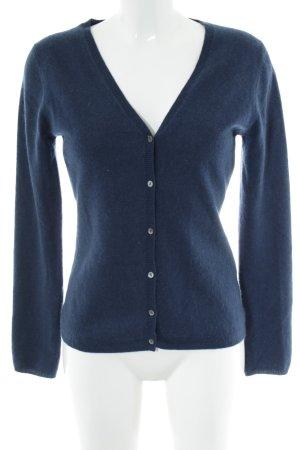 FTC Cashmere Cardigan blau Casual-Look