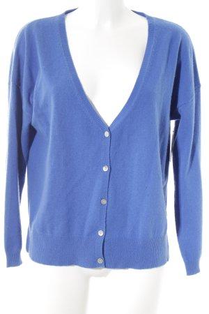FTC Cashmere Cardigan blau schlichter Stil
