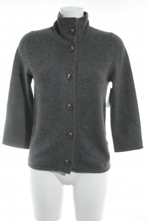 FTC Cashmere Cardigan grau Casual-Look