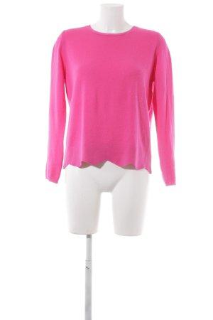 FTC Cashmere Cashmerepullover magenta Casual-Look