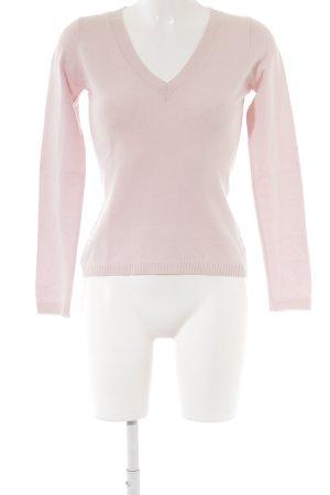 FTC Cashmere Cashmerepullover rosé Kuschel-Optik