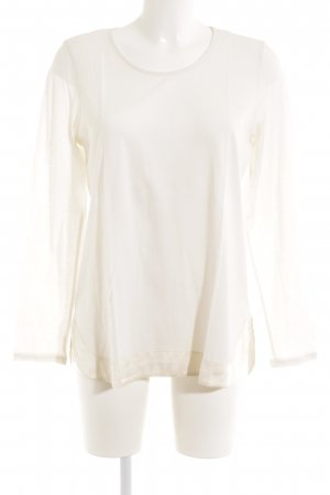 FTC Cashmere Longsleeve creme Casual-Look