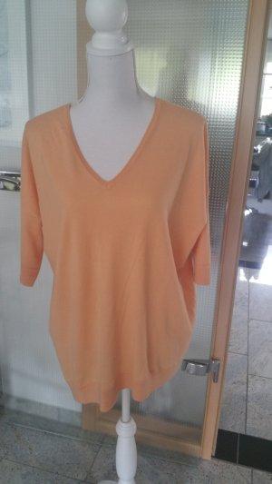 FTC Cashmere Camisa holgada naranja claro