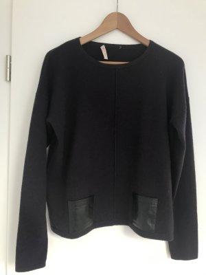 FTC Cashmere Cashmere Jumper dark violet-black cashmere