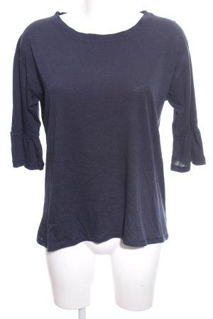 FTC Cashmere Shirttunika blau Casual-Look