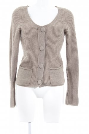 FTC Cashmere Strickjacke beige Casual-Look