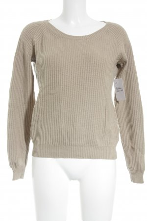 FTC Cashmere Strickpullover beige-hellbeige Casual-Look