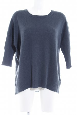 FTC Cashmere Strickpullover petrol Casual-Look