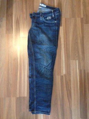 Ftp 31 Freeman T Porter Jeans Denim Denise Dark Reißverschluss