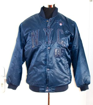 Bomber Jacket steel blue