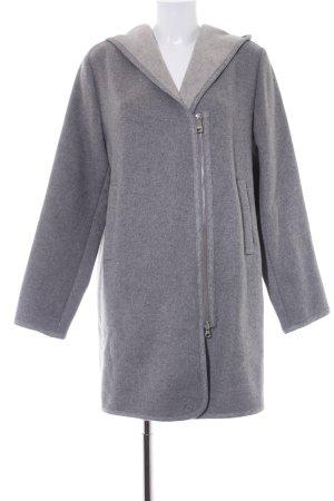 Fuchs Schmitt Manteau à capuche gris style décontracté