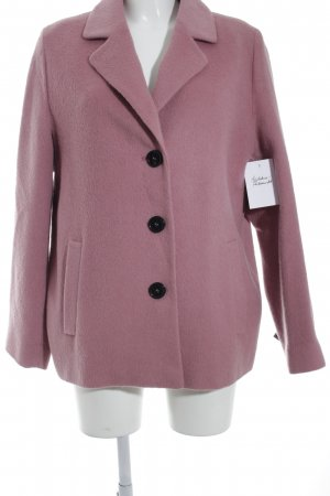 Fuchs Schmitt Manteau court rose molletonné