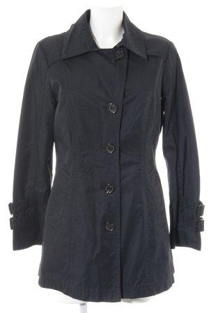 Fuchs Schmitt Heavy Raincoat dark blue business style