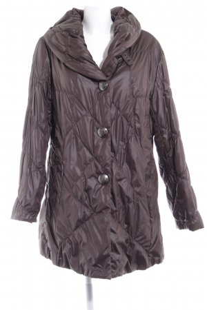 Fuchs Schmitt Quilted Coat grey brown fluffy