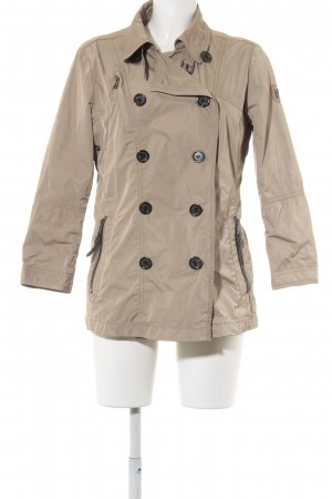 Fuchs Schmitt Trenchcoat sandbraun Casual-Look