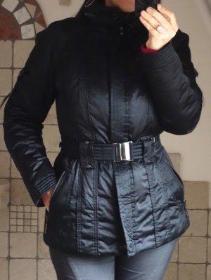 Fuchs Schmitt Winterjacke, schwarz, wattiert, leicht glänzender schöner Stoff
