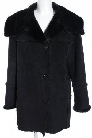 Fuchs Schmitt Wintermantel schwarz Casual-Look