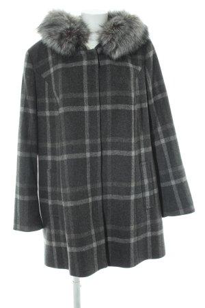 Fuchs Schmitt Wool Coat check pattern casual look