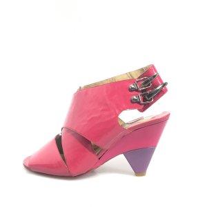 Fuchsia Chloe High Heel