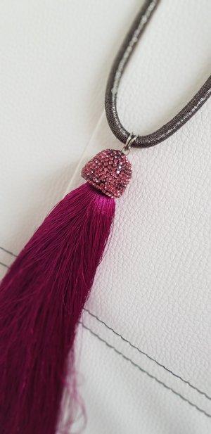 Fuchsia Halskette - NEU!