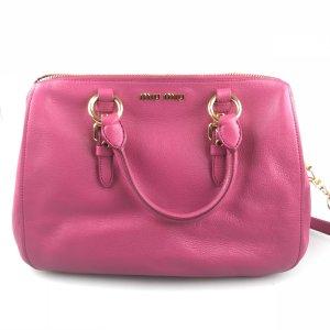 Fuchsia Miu Miu Shoulder Bag