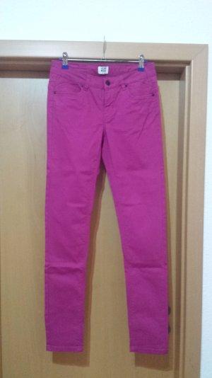 fuchsia pink Stoffhose / Jeans von Vero Moda - W28/L32