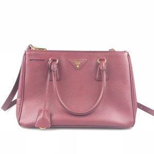 Fuchsia Prada Shoulder Bag