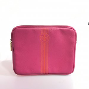 Tory Burch Sacoche d'ordinateur rose