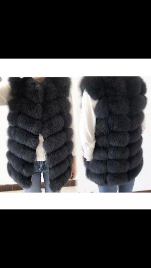 We Love Furs Veste de fourrure multicolore