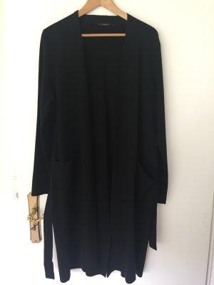 Windsor Manteau en tricot noir