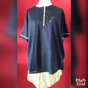 Fürstenberg Pyjama blue-dark blue cotton