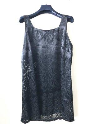 Fürstenberg Pyjama schwarz, gemustert und teils transparent