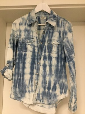 Fuga Denim Blouse multicolored cotton