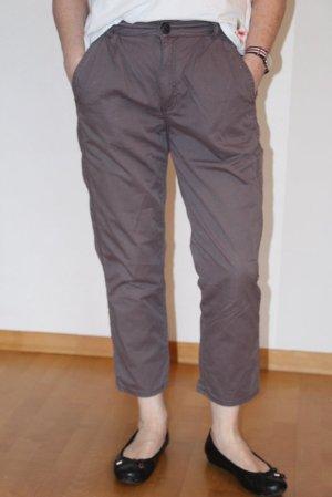 Fuga Pantalone chino grigio Cotone