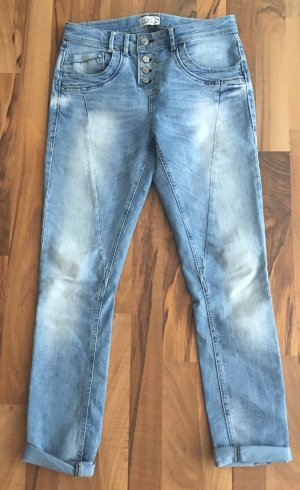 Fuga Boyfriend jeans azuur